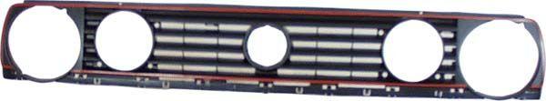 NEU-Grill-gt-VW-Golf-2-19-GTi-gt-Doppelscheinwerfergrill-mit-rotem-Rand